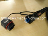 Odva - câble fibre optique IP67 duplex de LC