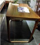 &Chair della Tabella dell'ufficio esecutivo di legno solido della noce (WD003)