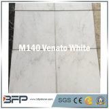 de Marmeren Tegel van het Zinkwit van de Dikte van 10mm voor Verdelen Gebruikt in Vloer, Muur, Decoratie