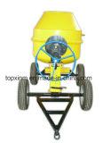 4 Concrete Mixer van het Gebruik van het Ontwerp van wielen de Draagbare 600L Industriële