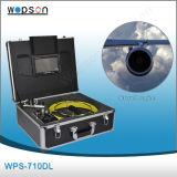 Leicht anwendbare Hauptleitungs-Abwasserkanal-Reinigungs-Inspektion-Kamera mit eingebautem Feststeller