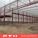 Taller prefabricado de la estructura de acero de la luz barata larga de la vida útil