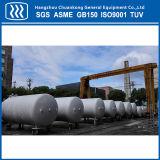 Tanque de armazenamento industrial do líquido criogênico do CO2 do argônio do nitrogênio do oxigênio