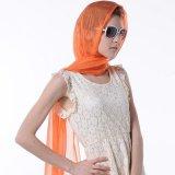 Accessorio di seta naturale della sciarpa pura di colore della donna di disegno di modo