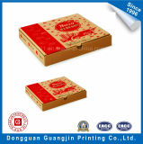 Het naar maat gemaakte Bruine Vakje van de Pizza van het Vakje van de Verpakking van het Voedsel van het Document van Kraftpapier