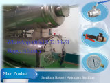 Esterilizador de autoclave em aço inoxidável com registrador de papless
