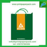 Sac personnalisé de cadeau d'achats de papier d'emballage de taille