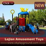 セリウムの中国の子供の学校の運動場の娯楽装置(X1509-1)