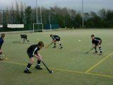 Herbe artificielle d'hockey de champ amicale