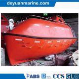 O tipo aberto barco salva-vidas GRP do vidro de fibra abre o bote de salvamento rápido dos barcos salva-vidas com preço do competidor