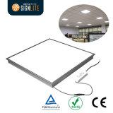 Luz de painel do diodo emissor de luz de TUV/Ce/RoHS 600*600, lâmpada do teto do diodo emissor de luz