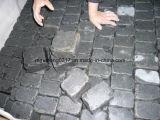 Il granito nero di Zhangpu della pietra per lastricati, annerisce il lastricatore del basalto