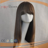 Parrucca superiore di seta di vendita calda diritta serica di stile di colore popolare