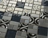 Специальная плитка мозаики металла нержавеющей стали конструкции 300*300 mm для плитки пола (FYMG040)