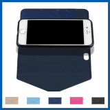 Afneembare kaartsleuf Holder Leather Case voor iPhone 6s