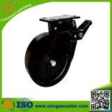 het Wiel van het Gietijzer van 125mm, Gietmachine de Van uitstekende kwaliteit van het Wiel