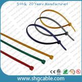 Individu verrouillant les serres-câble en nylon