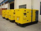 150kVA 50Hz 1500rpmのCumminsのディーゼル機関の発電機セットの無声おおい