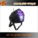 배터리 전원을 사용하는 Wirelss DMX LED 결혼식 훈장 빛