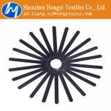 Serres-câble réglables noirs de crochet et de boucle