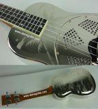 Aiersi Copper Hawaii Tree Sandblasted Resonator (Resophonic) Concert Ukulélé