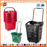 Preiswerter Preis-Gemischtwarenladen-Supermarkt-Einkaufskorb mit Cartors (Zhb76)
