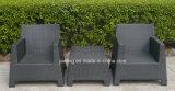 Stapelbarer im Freiengarten-Kaffee-Stuhl mit Aluminiumrahmen-&PERattan gesponnenem Kaffee-Stuhl (YT236)