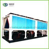 R407 90HP 열 펌프 유형 공기에 의하여 냉각되는 나사 물 냉각장치