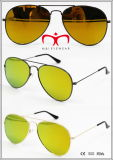 2016 neue Metallsonnenbrillen mit flachem Objektiv (MI160223)