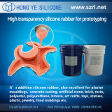 40 traslucidi Shore un Rapid Prototyping Silicone Rubber con Low Shrinkage