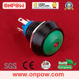 Onpow 12mm Metal Push Button Switch (GQ12 SERIESのセリウム、RoHS)