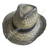 Fahisonのカウボーイのわらのバケツの帽子(LB15015)
