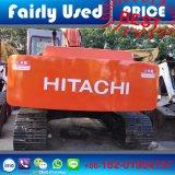 Máquina escavadora hidráulica usada de Hitachi Ex220-1 da esteira rolante (escavador) para a venda