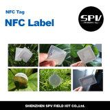 Étiquette Ntag216 ISO14443A de papier de Nfc