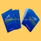 高品質の大人のためのカスタムトランプのゲームカードFlashcards