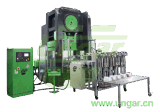 Conteneur de papier d'aluminium de la Chine faisant la machine Ungar