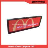 Segno del messaggio di P10 LED, visualizzazione, schermo