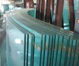 가구를 위한 탁상용을%s 4mm 공간에 의하여 구부려지는 강화 유리