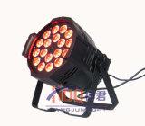 NENNWERT LED-18*18W 6in1 Rgbwauv LED kann beleuchten