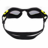 2015 nuevo Fashion Mirrored Swimming Mask con Wide Vision (mm-7204)