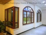 アルミニウム熱壊れ目の傾きおよび回転開き窓のWindows (FT-W80)