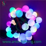 LED-Zeichenkette-Kugel-Licht-Feiertag für im Freiendekoration