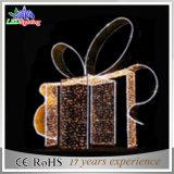 Дешевый напольный свет праздника украшений рождества мотива коробки
