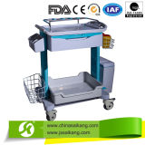 ABS van het ziekenhuis het Medische Karretje van de Apparatuur (CE/FDA/ISO)