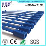 Tiras plásticas do plástico da alta qualidade do azul da manufatura 21cm da fábrica do selo de China