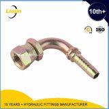 Embout de durites hydraulique de la femelle 60 de gaz de JIS