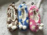 3人のカラー女性は刺繍した屋内靴(RY-SL1641)を