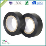 Cinta eléctrica del aislante del PVC del pegamento negro para Wraping de alambres