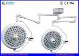 De Regelbare LEIDENE van de helderheid Dubbele Hoofd Chirurgische Medische Lichten van het Plafond