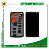 Exposição por atacado do LCD do telefone móvel para a tela do LCD do nexo 6 de Motorola